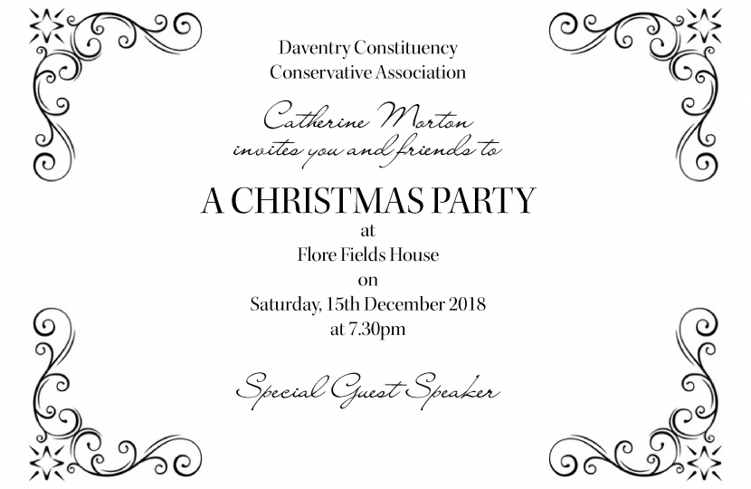 2018 Daventry Christmas Party